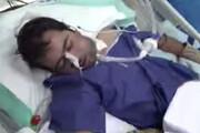 فیلم | وضعیت وخیم دامادی که ۲ روز پس از مراسم عروسی کرونا گرفت