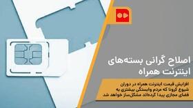 همشهری TV | اصلاح گرانی بستههای اینترنت همراه