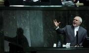 تصاویر | روز پرجنجال مجلس؛ ژستها و خنده تلخ ظریف | حمله و شعار نمایندگان؛ واکنشهای ظریف و قالیباف