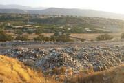 بام خوزستان همچنان درگیر بحران زباله