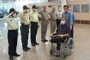 محیطبان قطععضوشده گتوند از بیمارستان مرخص شد