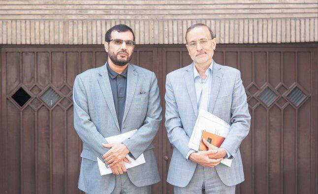 محمدرضا نجفی و علیرضا طاهری