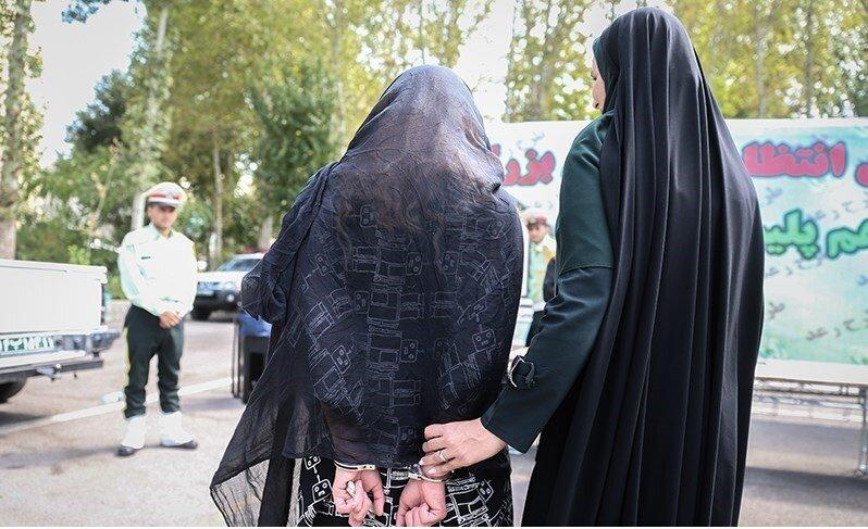 دستگیری-زن