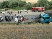 کردستان | تصادف رانندگی جاده دیواندره به سنندج ۲ کشته برجا گذاشت