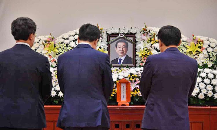 مرگ پارك وون-سون شهردار سئول