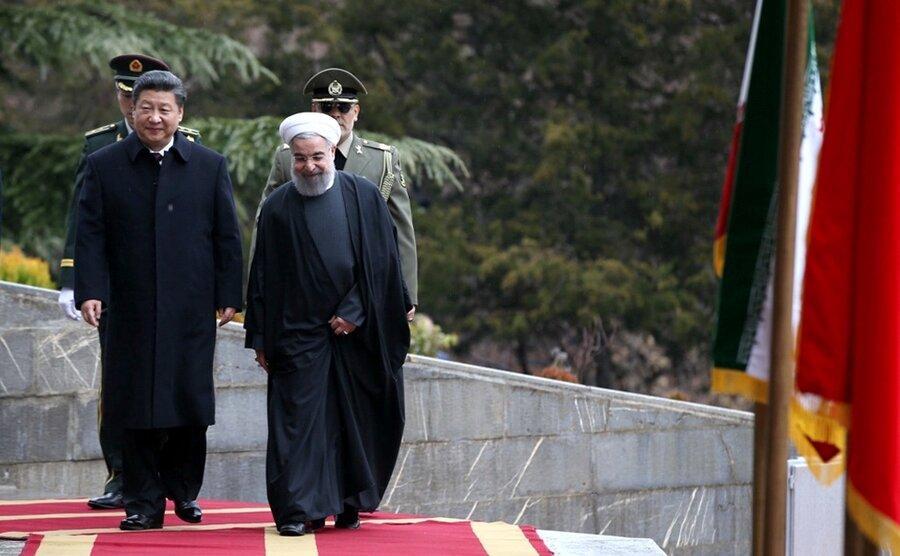 ایران وچین حسن روحانی و شی جین پینگ
