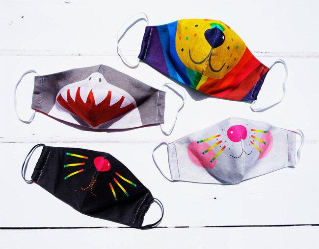 آموزش دوخت ماسک پارچهای | بدون نیاز به چرخخیاطی برای کودکتان ماسک بدوزید
