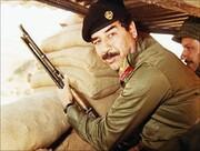 ویدئو | چرا صدام در جنگ با ایران لباس نظامی میپوشید؟