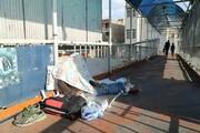 جمعآوری و ساماندهی بیخانمانهای منطقه ۸