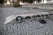 دریاچه شهربازی تعطیلشده کرمانشاه خشکید