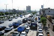 آسایش ساکنان ۱۷ شهریور معطل پشت ترافیک