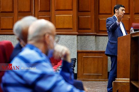 تصاویر یازدهمین دادگاه باند طبری