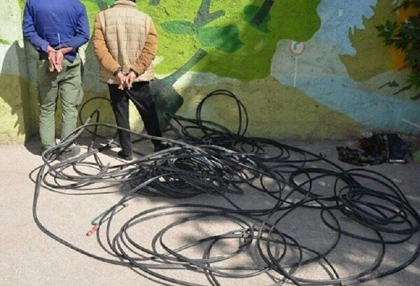 سرقت کابل تلفن