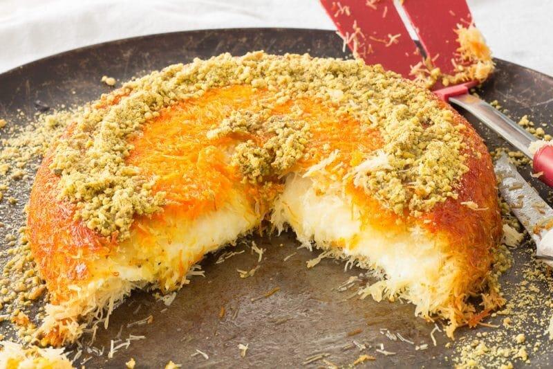طرز تهیه کنافه پنیری؛ دسر جذاب و خوشمزه ترکیهای