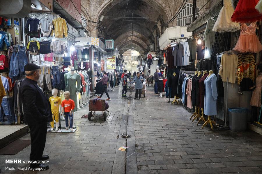 بازار تهران در کرونا