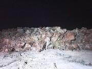 ویدئویی از رانش زمین در شیراز | خانهها تخلیه شدند