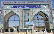 آرامستان بهشت رضوان مشهد به غسالخانه سیار مجهز شد