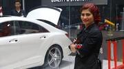 مشهورترین دختر ترمیمکننده رنگ خودرو در ایران