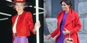 تصاویر   شباهت معنادار لباسهای مگان مارکل و مادرشوهرش پرنسس دایانا