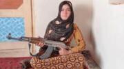 قهرمان ۱۵ ساله مردم افغانستان| قمر گل انتقام خون پدر و مادر را گرفت