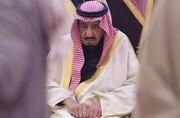 ویدئو | ترخیص پادشاه سعودی از بیمارستان؛ بدون ماسک با خودروی لوکس