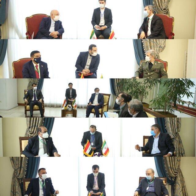 دیدار وزرای ایران و عراق