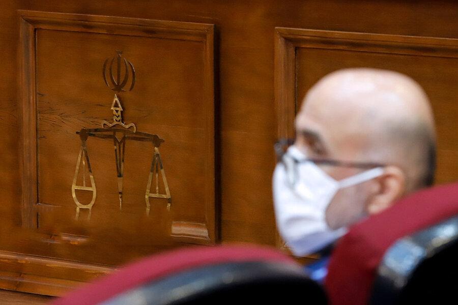 تصاویر دادگاه سیزدهم باند طبری