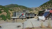 تصاویر | واگذاری رایگان آبگرمکن خورشیدی در روستاهای کردستان