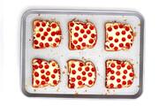 طرز تهیه تست پیتزا | غذایی آسان و سریع برای روزهای شلوغ