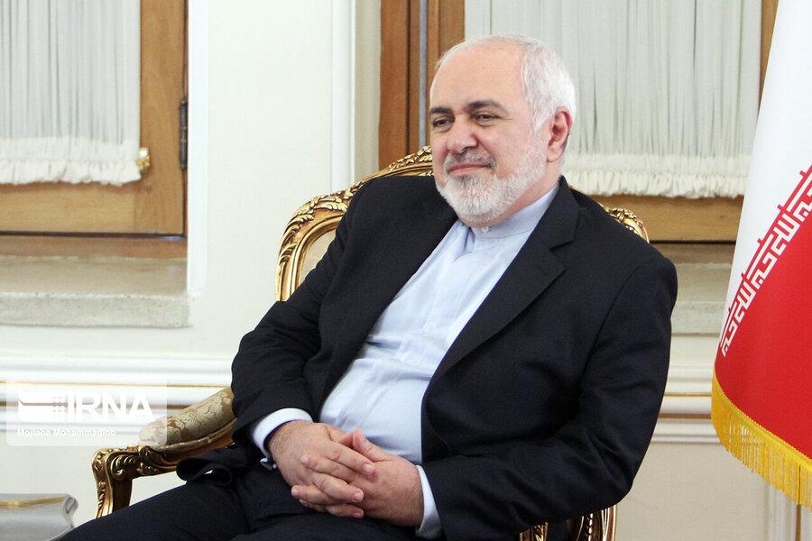 توییت ظریف درباره علت کاهش تعهدات ایران در برجام