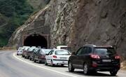 اجرای محدودیت ترافیکی در جاده کرج - چالوس