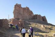 مرمت کهنترین قلعه سنگی و کوهستانی یزد