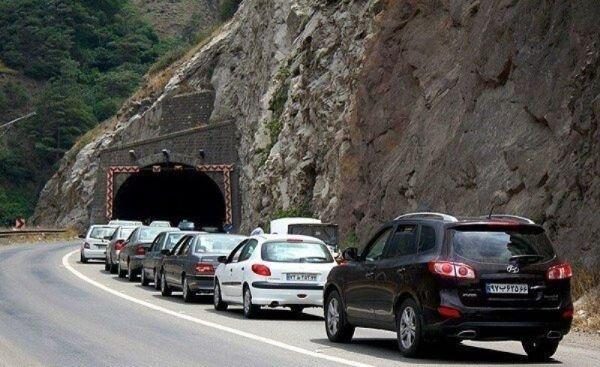 وضعیت ترافیک مسیرهای منتهی به شمال در نخستین روز فروردین ۱۴۰۰