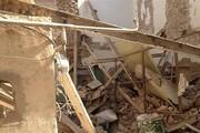 ریزش ساختمان در بهارستان جان یک نفر را گرفت