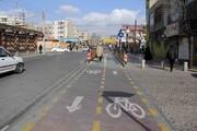دوچرخهسواری از شهرزیبا تا خیابان طالقانی