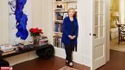 خانه هیلاری کلینتون در واشنگتن دیسی | ویلای مجلل و رنگی این سیاستمدار آمریکایی را ببینید