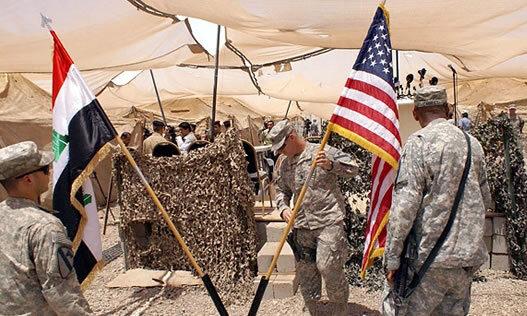 پایگاه آمریکایی در عراق