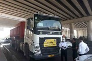 توقیف ۲۵۰ کامیون در شب های قدر | ممنوعیت تردد کامیونها در شب بیستوسوم