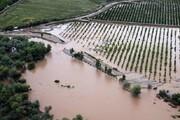 خسارت ۴۴ میلیارد ریالی سیل به اراضی چالدران