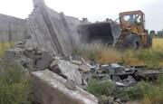 ۳۵ هکتار از اراضی کشاورزی کرج رفع تصرف شد
