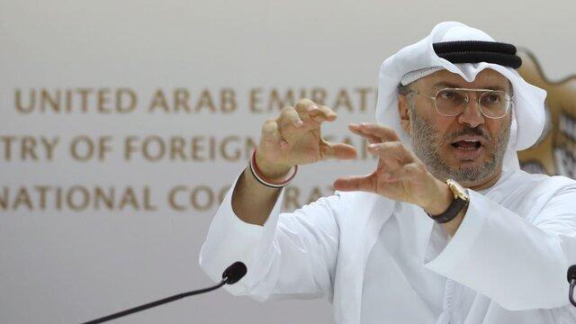 انور قرقاش وزیر مشاور امارات