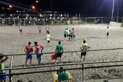 آغاز لیگ برتر فوتبال ساحلی در مردآباد یزد