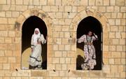 تصاویر | مردم غزه روز لباس سنتی فلسطین را جشن گرفتند