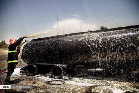 آتش سوزي |عکس: نسرین توحیدی زاده