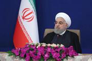 روایت روحانی از جریان مرموز تحریف | اقتصاد ایران تابآوری بالاتری نسبت به اروپا و آمریکا داشت | پنجشنبههای جهش تولید خاری در چشم دشمنان است