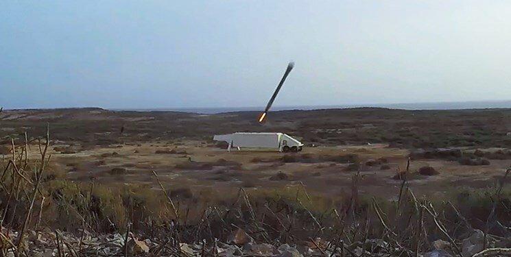 اصابت موشک ضد رادار سپاه