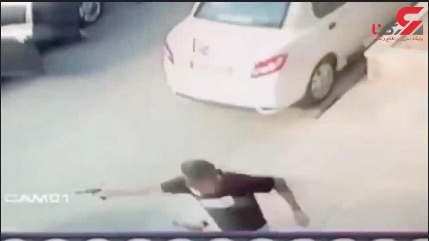 تیراندازی در سعادت آباد