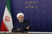 روحانی به کدام پیام تهدیدآمیز ترامپ خندید؟ | رئیس جمهور اروپایی هم یکسال بعد خندید