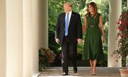 ملانیا ترامپ باغ گل رز کاخ سفید را تغییر میدهد   باغ رز از دوره جان اف کندی دست نخورده است