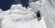تصاویر | نجات معجزهآسای مرد کوهنورد